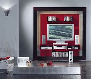 Modern Entertainment Center In A Frame From Vismara Design