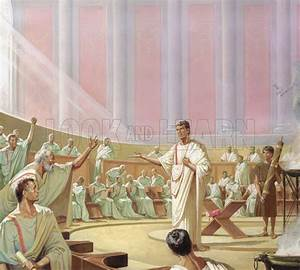 Debate in the early Roman senate - Look and Learn History ...