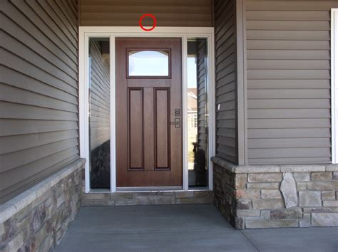 front door security where to place security cameras cammy