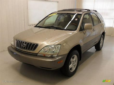 metallic lexus 2003 burnished gold metallic lexus rx 300 46967092 photo