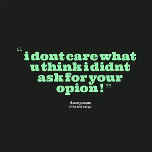 I Dont Care Quotes For Facebook | Quote Addicts