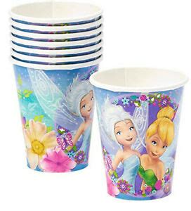 foto de BEST FRIEND FAIRIES Birthday Party hot cold PAPER CUPS