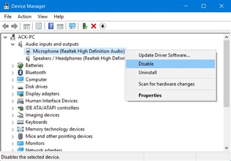 No Sound On Laptop Windows 10 How To Disable Or Turn Off The Microphone In Windows 10