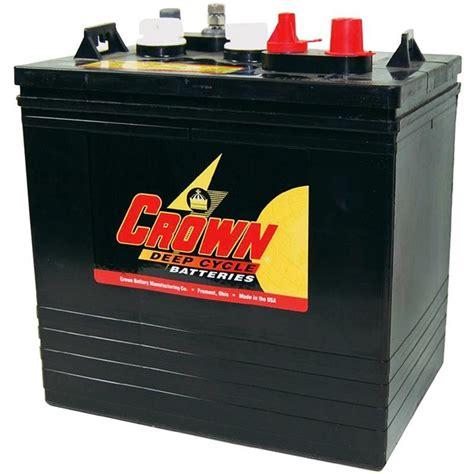crown cr 235 cr 235 6 volt 235 ah gc2 deep cycle solar battery