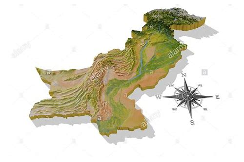 pakistan 3d map download