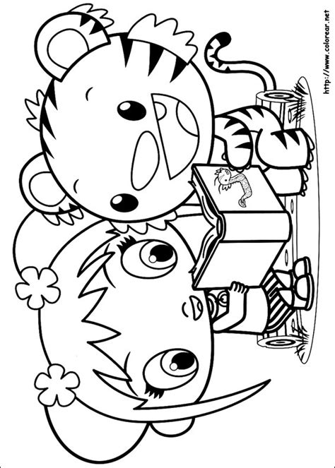 Dibujos Para Colorear De Ni Hao Kailan