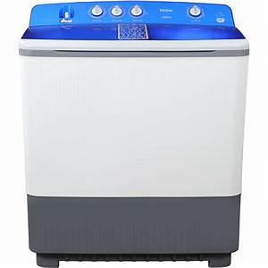 Haier Semi Automatic Washing Machine
