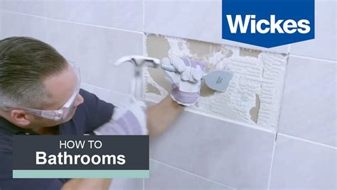 remove  replace tiles  wickes youtube