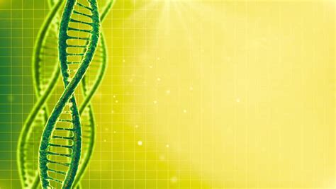 looping science green background  dna molecule