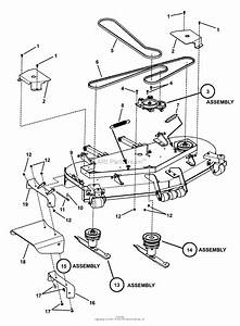 Snapper Pro 7800088   61 U0026quot  Mower Deck Series 4 Parts Diagram For 61