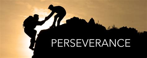 Perseverance- Word of the Month - Center for Technical ...