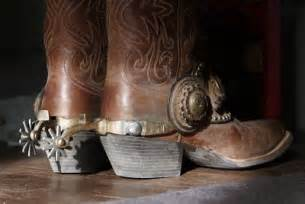 Cowboy Boots with Spurs Photography