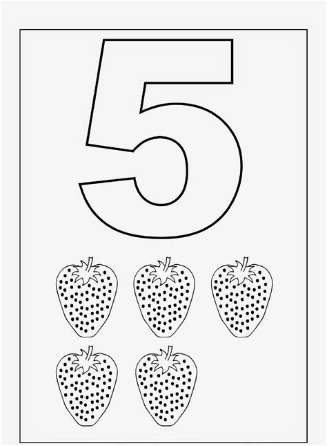 Coloring Worksheets by Kindergarten Worksheets Coloring Worksheets Maths 1 10