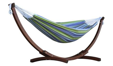 Hammock Argos by Buy Vivere Cotton Hammock With Wooden Stand Oasis