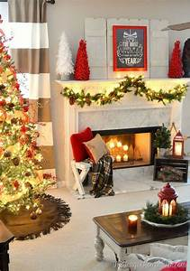 Beautiful, Christmas, Decorations, For, Your, Living, Room