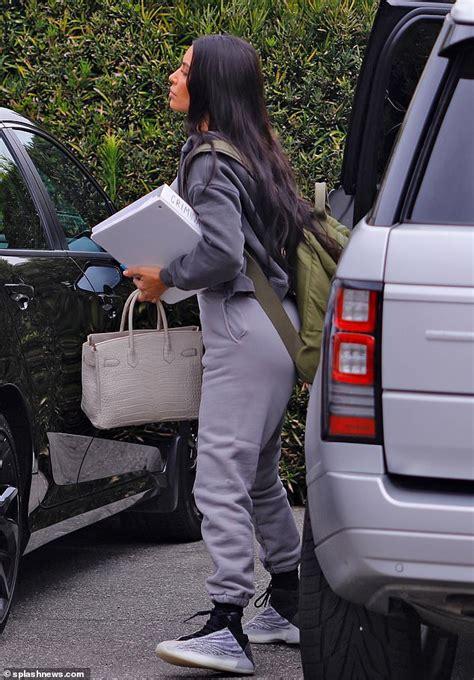 kim kardashian arrives  law school exam  la daily