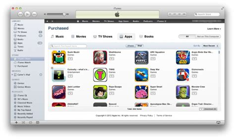 how to view app purchased how to use itunes to view and manage purchased apps 148apps