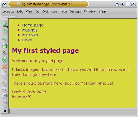 html style color starting with html css