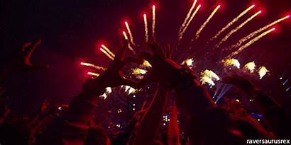 Festival Rave Heart Edm Festivals Animation Tnj