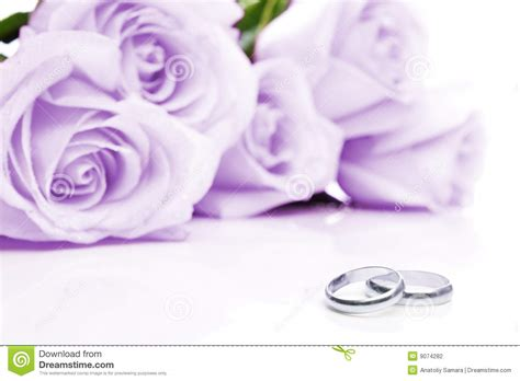 wedding rings and roses image of invitation
