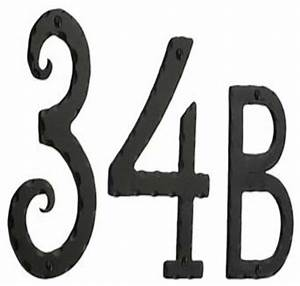 Smedbo rustic house numbers and letters wrought iron for Iron house numbers and letters