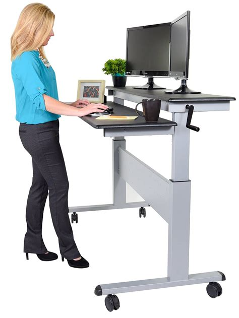 stand up desk price 10 best height adjustable standing desk reviews 2018