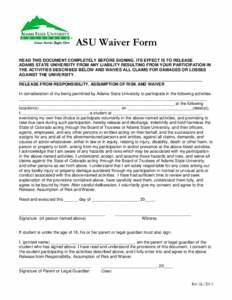Liability waiver - PDFSEARCH.IO - Document Search Engine