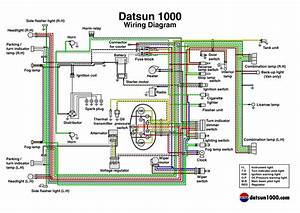 1973 Datsun Wiring Diagram