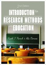 introduction  research methods  education sage