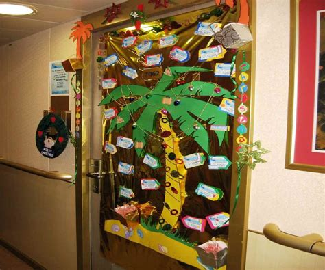 christmas door decorations best images collections hd