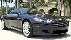 2006 Aston Martin Db9 Volante Convertible Midnight Blue