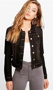 Mettre Twitter En Noir : en images veste en jean brut oversize blanche ou customis e comment bien porter la veste ~ Medecine-chirurgie-esthetiques.com Avis de Voitures