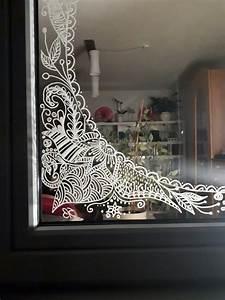 Fenster Bemalen Weihnachten : pin von steffis bunte ideenwelt auf fenster bemalen mit kreidestift fenster kunst ~ Watch28wear.com Haus und Dekorationen