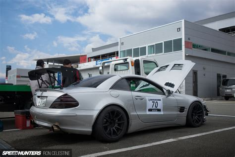 Time Attacking In A Jdm-style Sl500