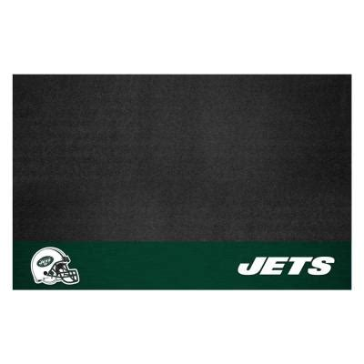home depot grill mat fanmats new york jets 26 in x 42 in grill mat 12195
