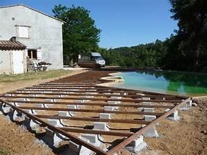 Terrasse En Ipe : g n rale construction terrasse de piscine en ipe ~ Premium-room.com Idées de Décoration