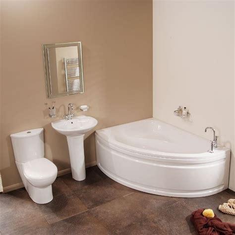 vienna left corner bathroom suite