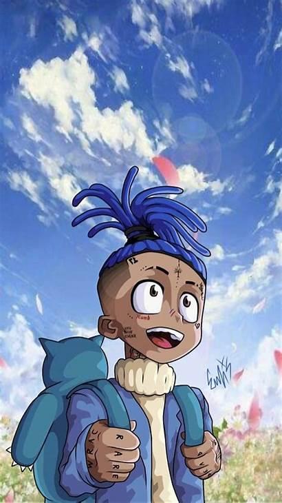 Xxtenations Xxxtentacion Cartoon Cool Anime Wallpapers Xxtentacion