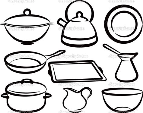 Coloring Utensil by Printable Coloring Cooking Utensils Coloring Pages