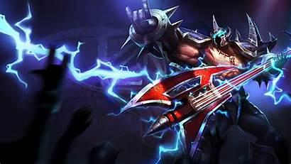 Mordekaiser Pentakill League Legends Wallpapers Penta Kill
