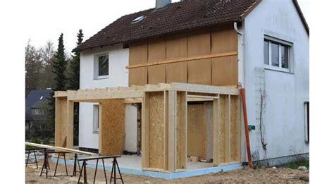 Anbau Holzständerbauweise Preise by Umbauprojekt Ross Ii