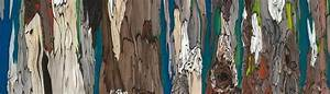 original paintings tree trunks figurative artwork wall With what kind of paint to use on kitchen cabinets for tree trunk wall art