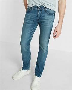Eco-friendly slim fit slim leg stretch jeans