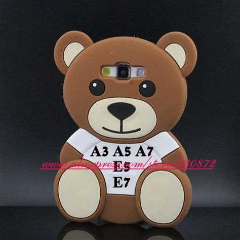 silicon 3d moschino samsung j3 3d silicon style soft phone back skin