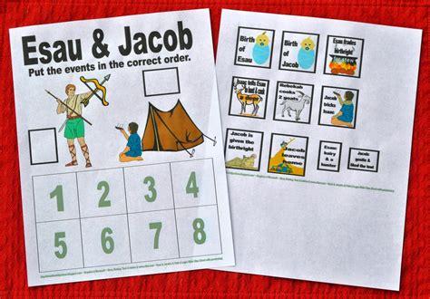 bible for genesis jacob amp esau 601 | 7. Jacob %2526 Esau put in order worksheet before