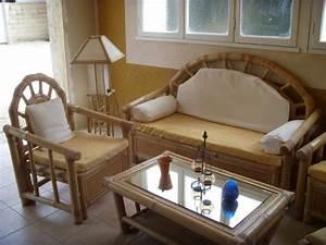 Salon De Jardin Bambou : salon de jardin en bambou carpentras 84200 ~ Teatrodelosmanantiales.com Idées de Décoration