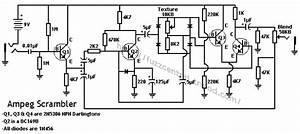 fuzz central ampeg scrambler With guitar fuzz circuit