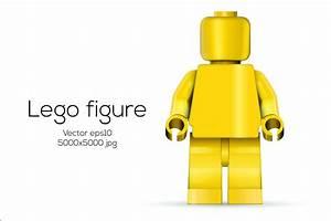 Vector Lego figure ~ Illustrations ~ Creative Market