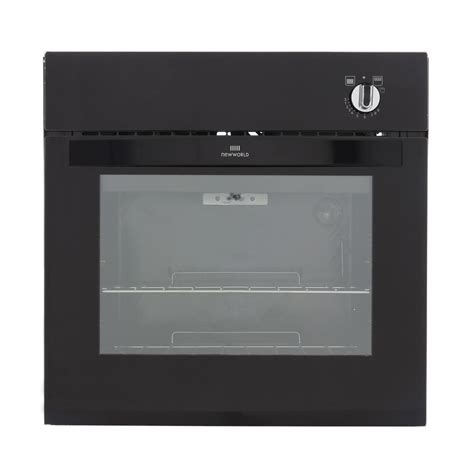 Buy New World Nw601g Black Single Built In Gas Oven