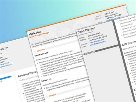 Resume Creator On Mac by Make Putting Your Resume Together A Lot Less With